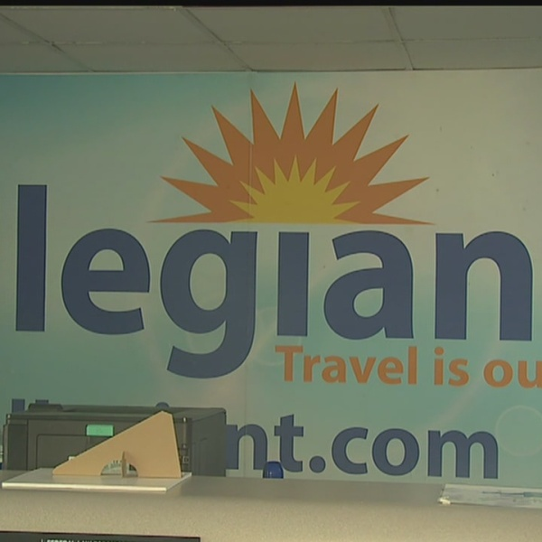 Allegiant will offer flights out of Akron