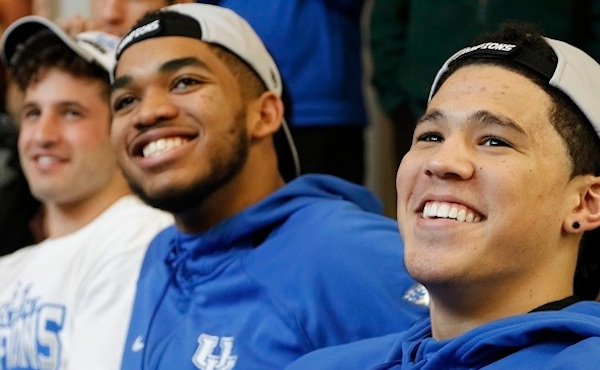 Karl-Anthony Towns, Devin Booker_129888