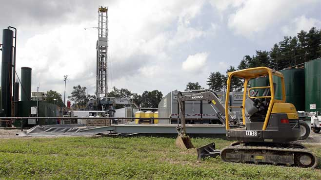Gas drilling wastewater_138981