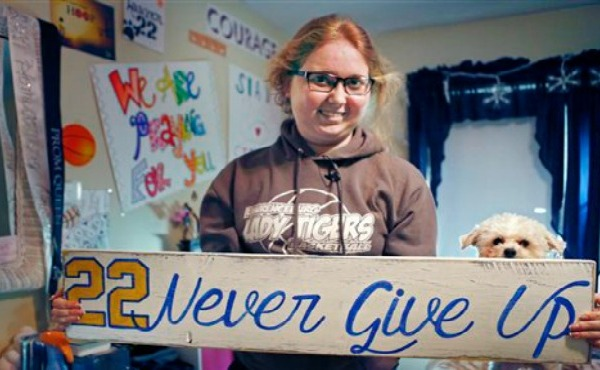 Lauren Hill, a basketball player in Cincinnati, has died of cancer._134569