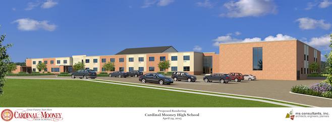 Cardinal Mooney High School proposed rendering (ms consultants inc.)