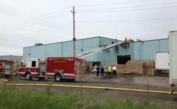 fire at star extruded shapes in canfield ohio forced evacuation_143661