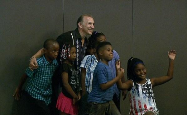 Ray Boom Boom Mancini hosts camp for kids_155660