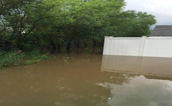 Flooding in Canterbury Creek neighborhood in Poland, Ohio_152440
