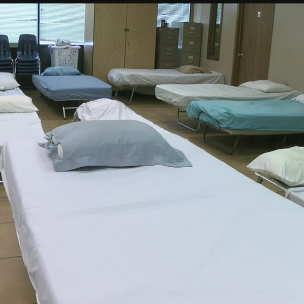 Local shelters opening their doors during frigid temperatures