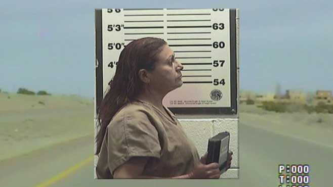 Naked driver leads Santa Fe, New Mexico County Deputies on