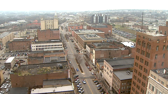 Downtown Youngstown, Ohio skyline_133880