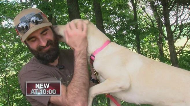 Man saves dog_229013