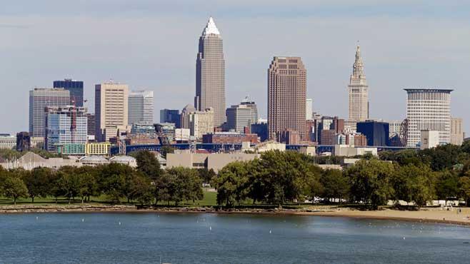 Cleveland, Ohio skyline_228644