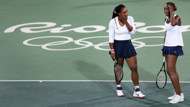 Venus and Serena Williams, 2016 Rio Olympics_245934