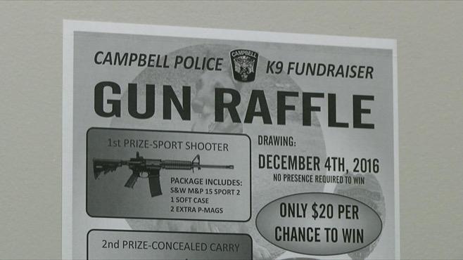 Campbell Police gun raffle_266284