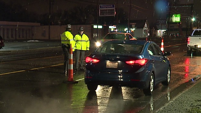 OVI checkpoint in Austintown