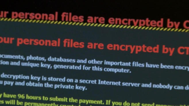 """Youngstown State University was hit with a similar ransomware attack, which seized control of a machine and locked away its files. A message on the computer read, """"We've encrypted all of your files, and if you want this data back, it will cost..."""