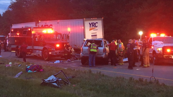 Multiple people in hospital after accidents on I-76, including 9