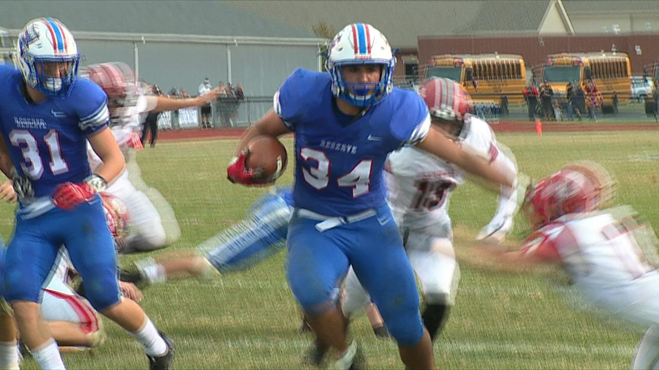 Western Reserve's Jack Cappabianca rushed for 113 yards and two touchdowns as the Blue Devils rolled past Columbiana on Thursday night.