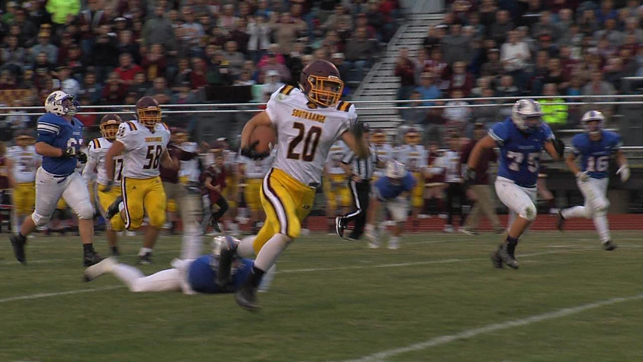 South Range cruised past Western Reserve 34-0 Friday to improve to 2-0.