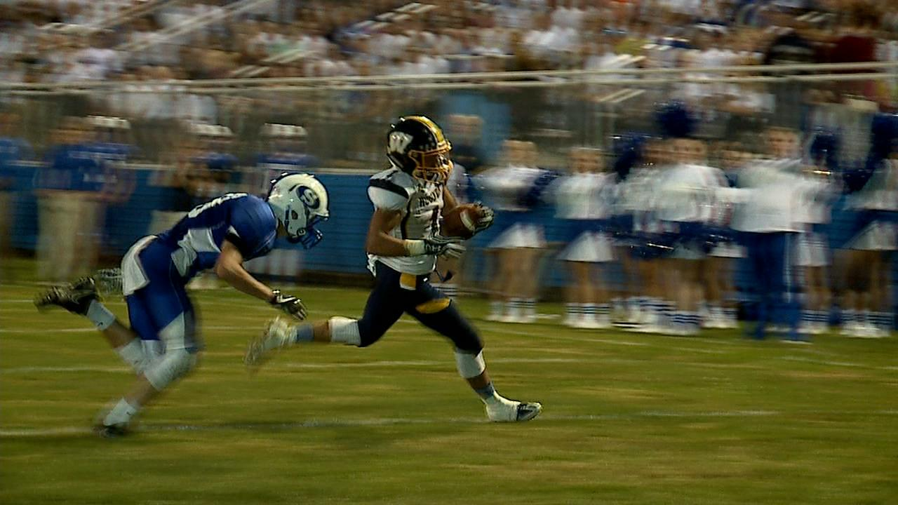 Bryson Verrelli scored on three touchdown runs in Wilmington's 35-0 victory at Sharpsville. The Greyhounds hand Sharpsville their first loss of the season. The 'Hounds improve to 4-0. Wilmington's defense has held their opposition scoreless in the...