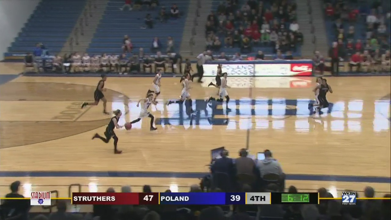 High School Basketball Game of the Week: Struthers vs. Poland, Complete Game