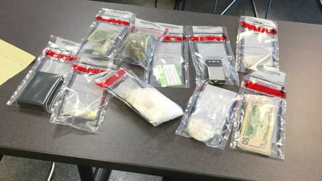 Girard Police Street Crimes Unit raided an apartment at 751 Churchill #4 for sales of crack cocaine and marijuana,