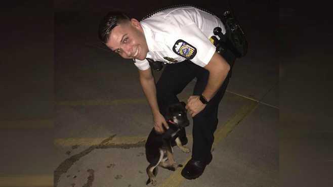 officer david drenning columbus puppy_500566