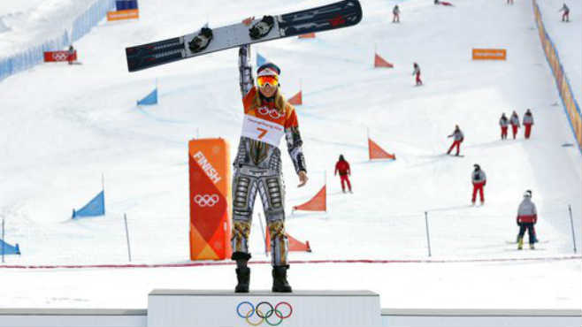 Pyeongchang Olympics Snowboard Women_512777