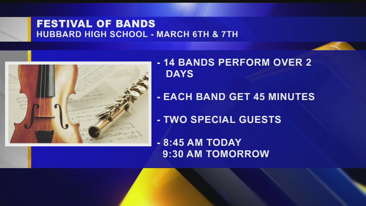 Hubbard hosts festival of bands