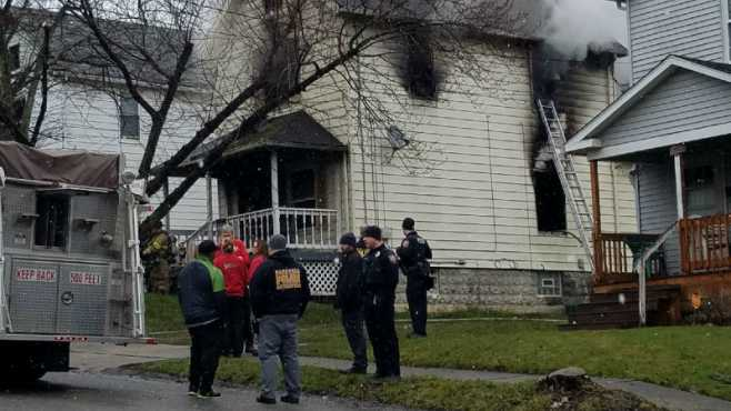 Campbell house fire Morley Avenue