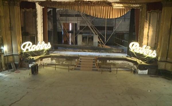 Robins Theatre renovations_529244