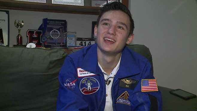 Howland High School junior Michael Schaeffer