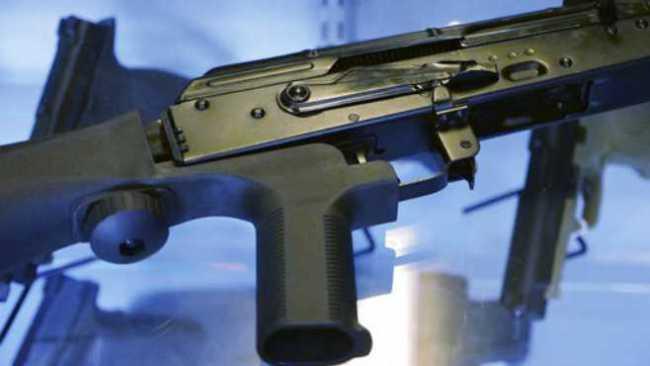 Gun bump stock