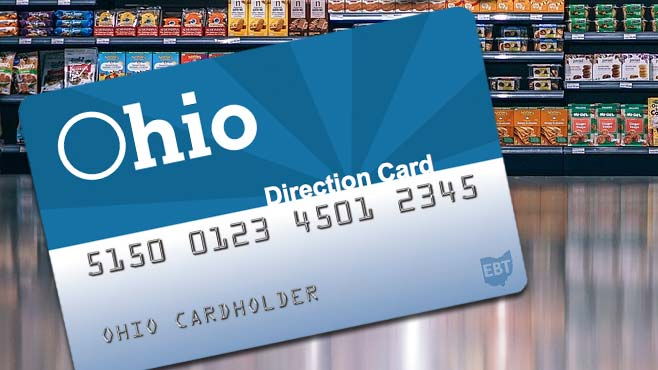 Ohio Direction Card, Food Stamps