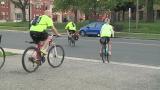 Warren bike to work event