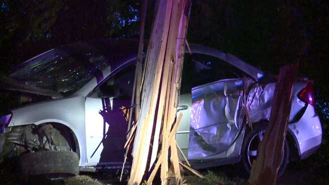 Police chase ends in crash on Youngstown's south side