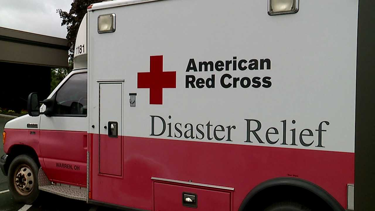 American Red Cross disaster relief, emergency response vehicle