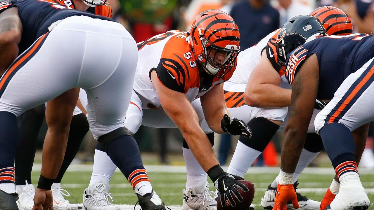 Billy Price, Cincinnati Bengals Center –NFL