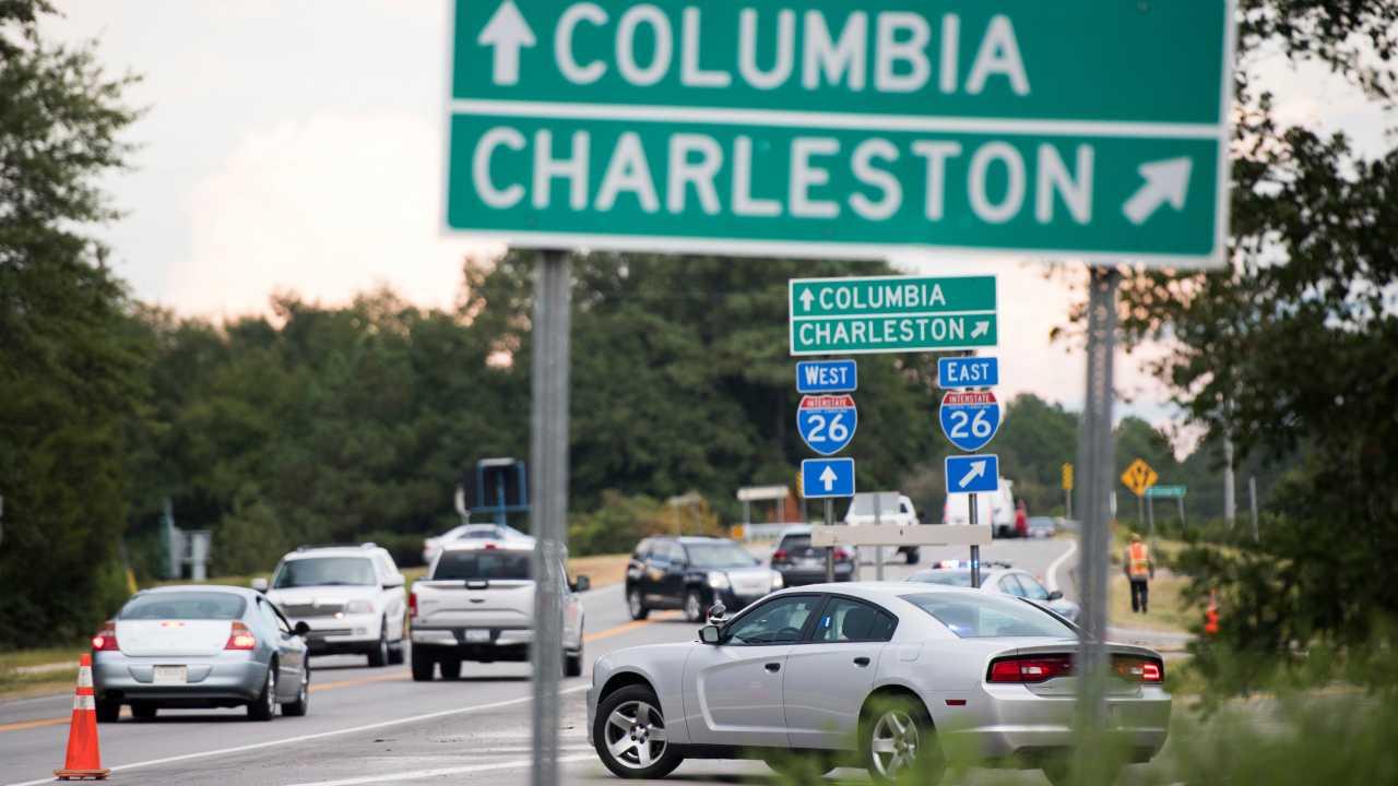 Hurricane Florence evacuation in South Carolina