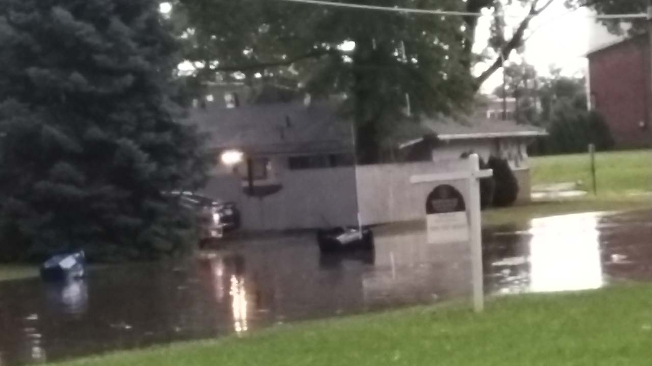 Flooding on Youngstown Street