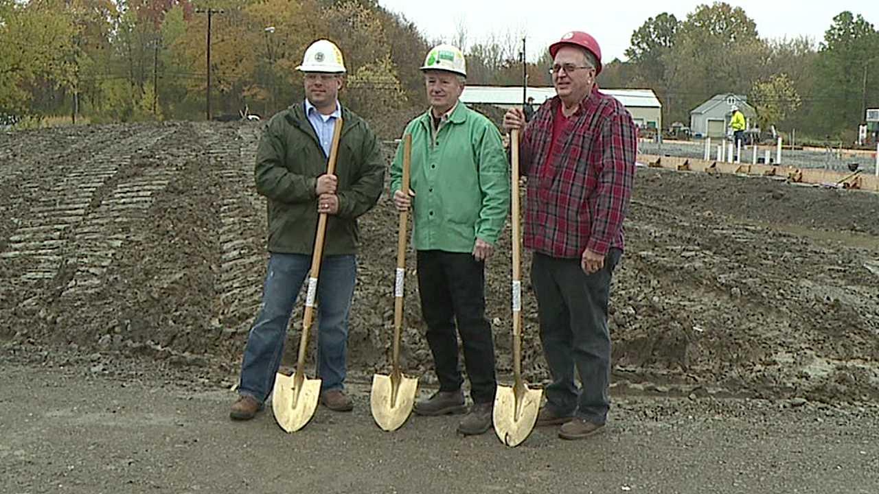Builders Association new home groundbreaking