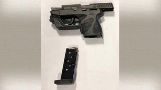 Gun confiscated from Pittsburgh Airport