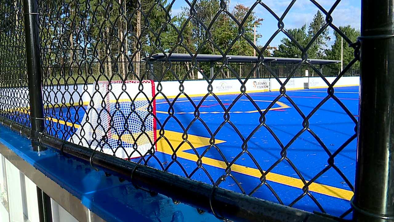 Hockey rink at Mill Creek Park