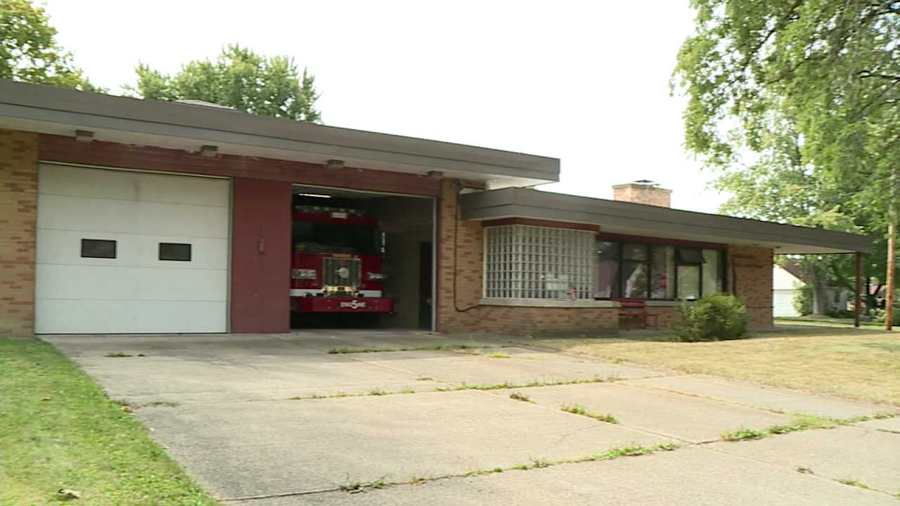 Warren Fire Station 5 along Atlantic Street
