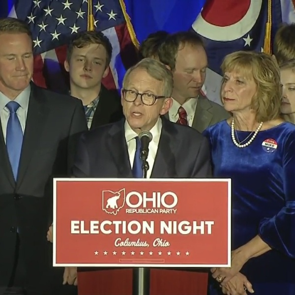 Mike DeWine acceptance speech for Ohio governor