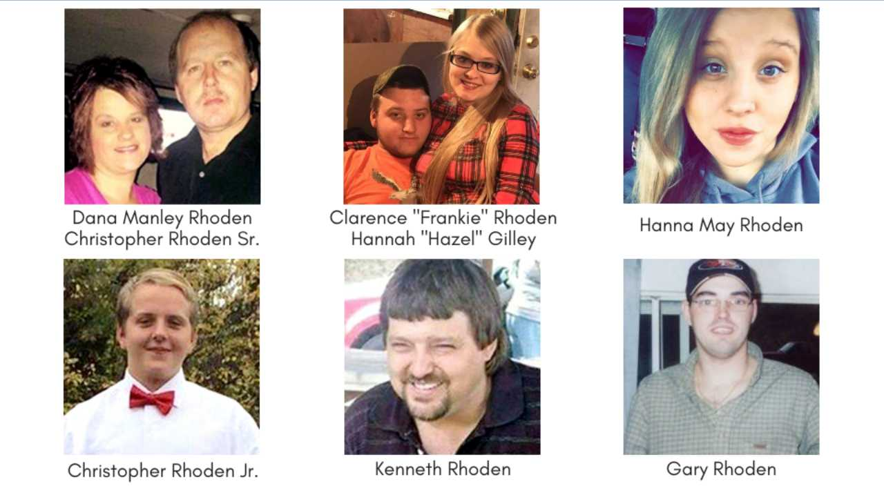 Rhoden family murders, Pike County, Ohio