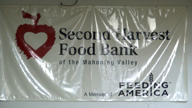 Second Harvest Food Bank sign_116364