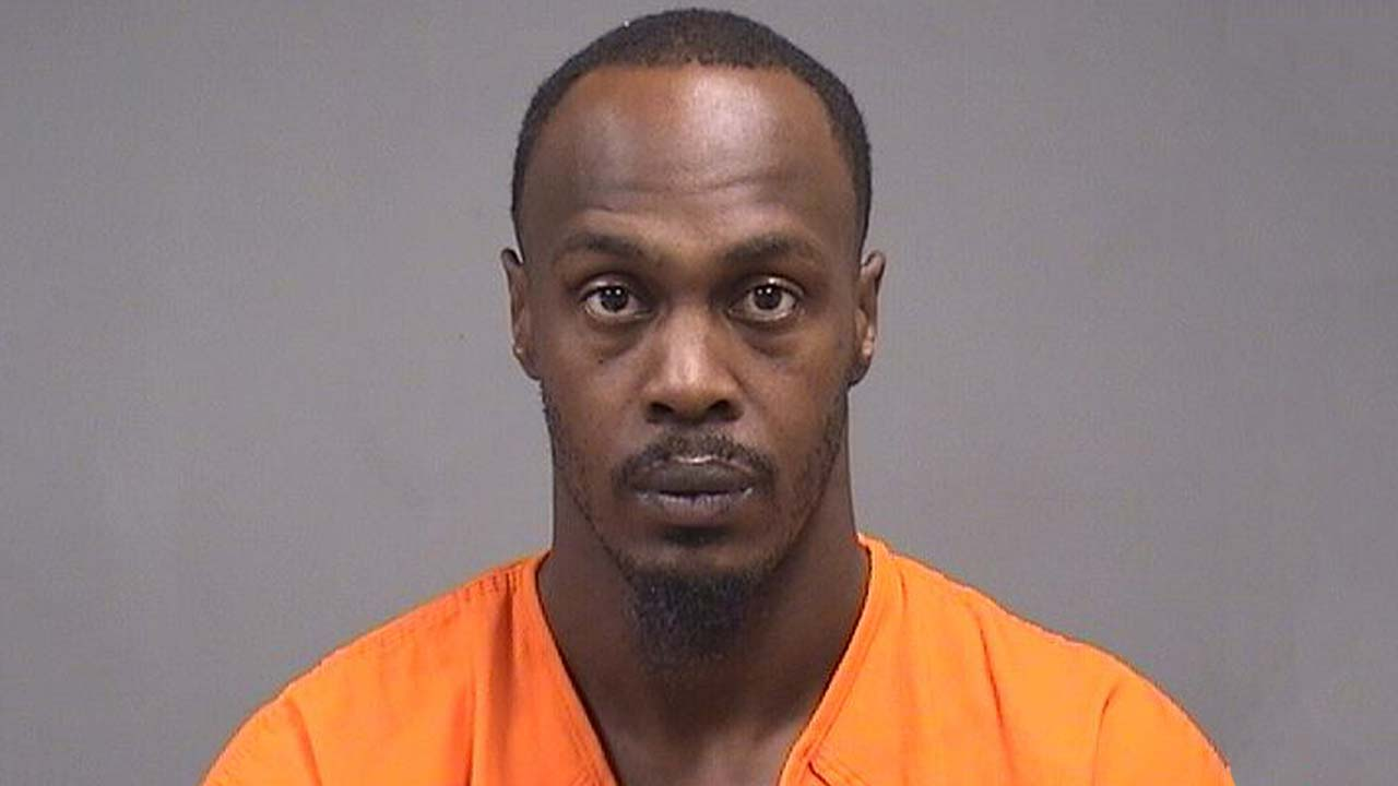 Edward Lightning, arrested on federal weapons charges