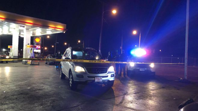 Coroner identifies man found shot at Youngstown gas station