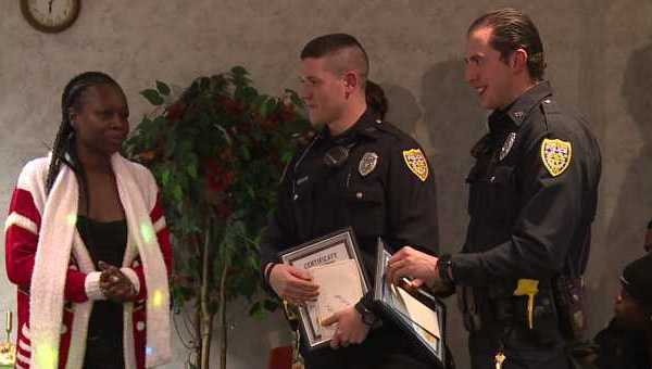 Youngstown Police Officers Honored