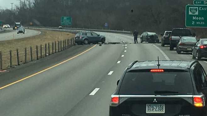 Interstate 376 crash