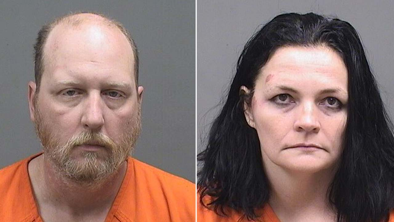 Jonathan and Tommie Trent, charged with child endangering in Austintown.