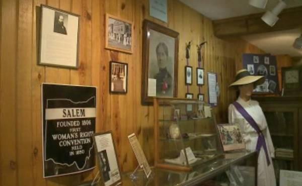 Salem Historical Society Women voting rights